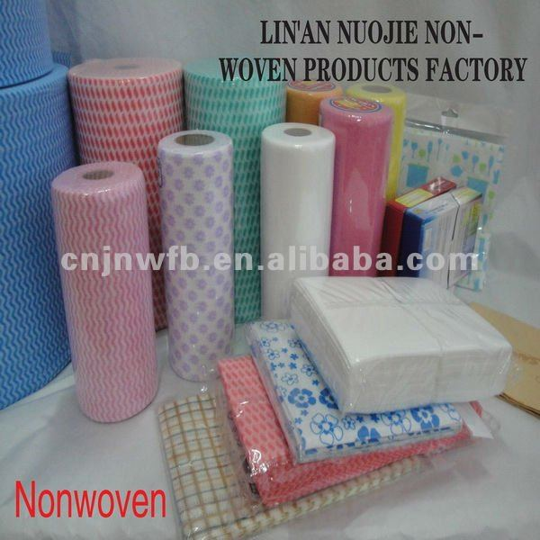 NONWOVEN Wipes cotton textile fabric