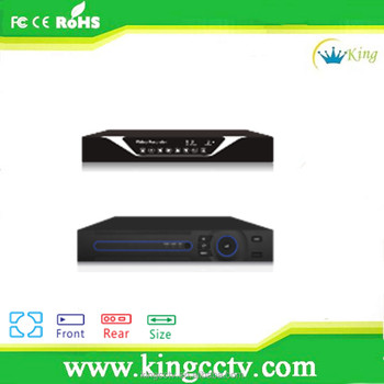 Low Price TVI/AHD/NVR/DVR ONVIF 16ch H.264 NVR Home Surveillance XVR