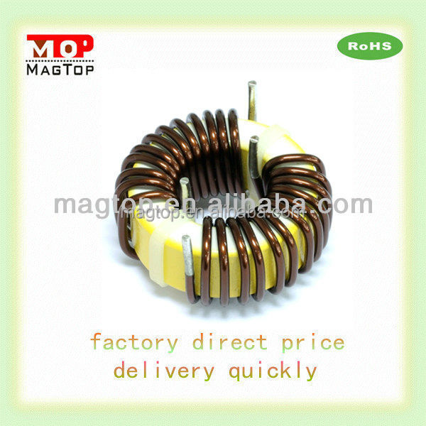filter inductor with base choke inductor coil toroid with iron core/ferrite core inductor high quality