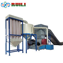 plastic film crusher / Polyester pulverizer/second hand polyester plastic recycling machine new technology product in china