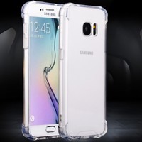 Mobile phone back cover case for Samsung galaxy j2 Transparent back cover