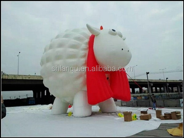 animal small sheep model inflatable advertisement model for events