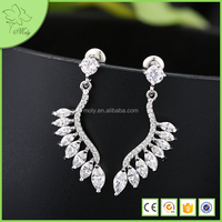 Fashion Top Design Gold Plated Cheap Earrings Made In China