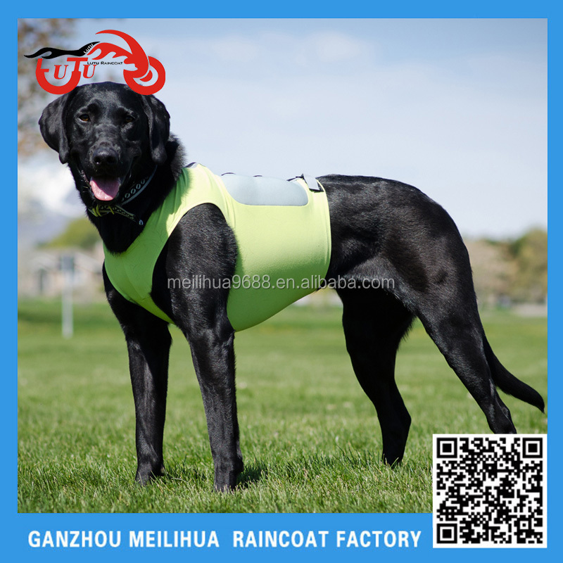 In-Stock Items Supply Type High Visibility Reflective Tape 3M Dog Reflective Safety Vest with Air Bag