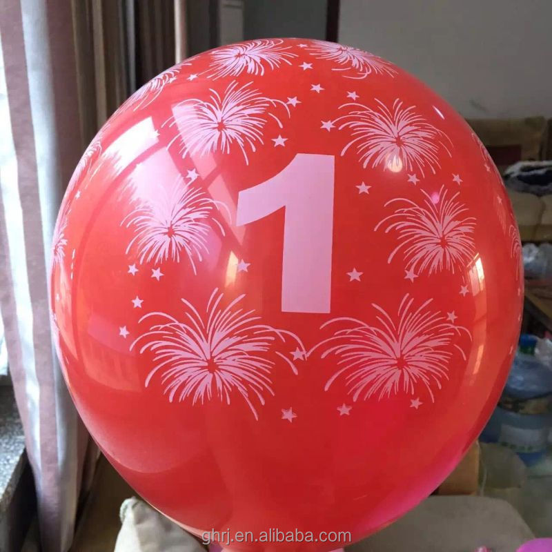 Birthday Festival and Latex Material decoration balloon