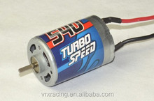 Brushed Electric Motor for 1/10th scale rc car,540 15turn brushed motor,brushed motor for rc car