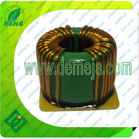 Ac common mode toroidal base Power Choke Coil inductor for EMI suppressor