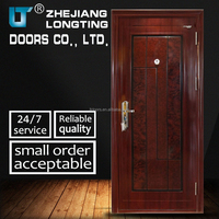 Rich Experience Gold Door Supplier Promotion Security Steel Door LTT-029