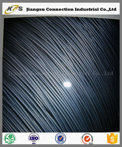 BS 5896 LRPC free cutting ribbed pc steel bars wire for concrete pole