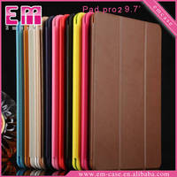 For ipad pro flip cover leather case for iPad pro 9.7 smart cover