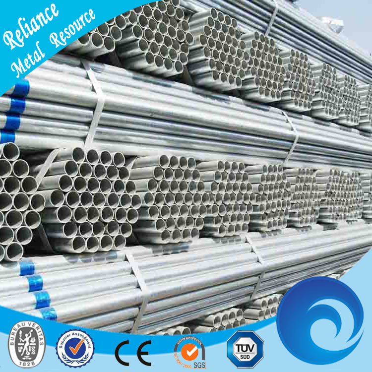 GALVANIZED ERW CARBON STEEL WELDED PIPE