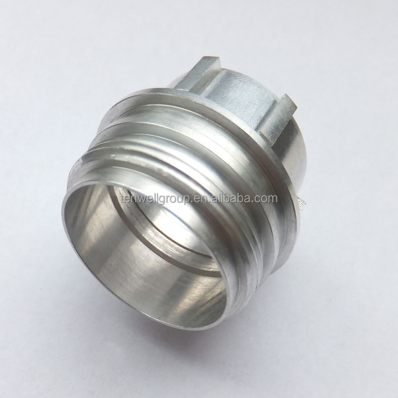 OEM manufacturing precision machining 7075 aluminum parts aluminum bolt CNC spacer