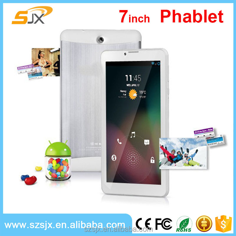 "7"" 3G Phablet PC Bluetooth Android 4.4 Phone Call tablet Wife Bluetooth TV 2gb Ram,8/16GB ROM"