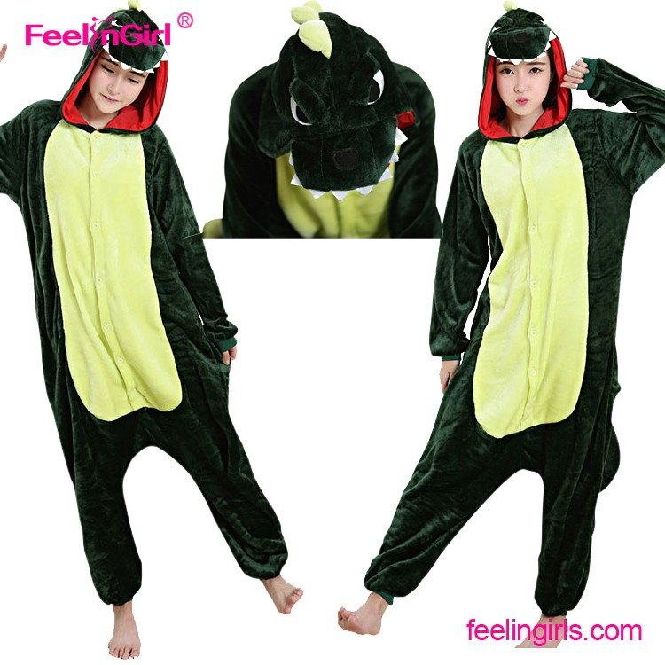 Unisex Adult warm fleece pajamas for women pajama set warm animal pajamas one piece femme