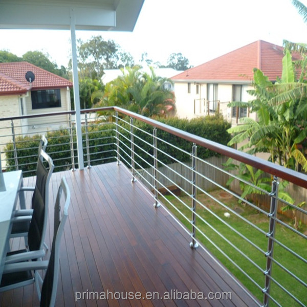 stainless steel metal balcony railing design stainless steel rod railing