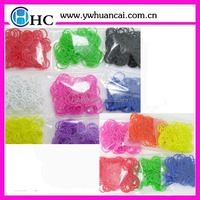 best quality fashion designed silicone rubber loom bands