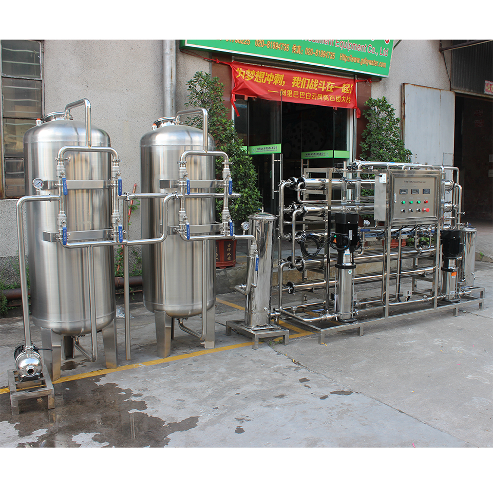 Reverse osmosis water generator pure water treatment system machine price