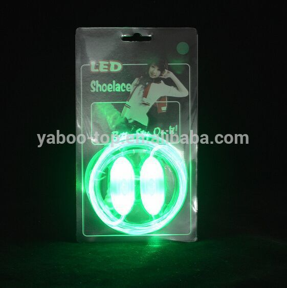 (Hot Model) Cheapest LED Shoe laces, Flashing shoe laces, Led Shoelace
