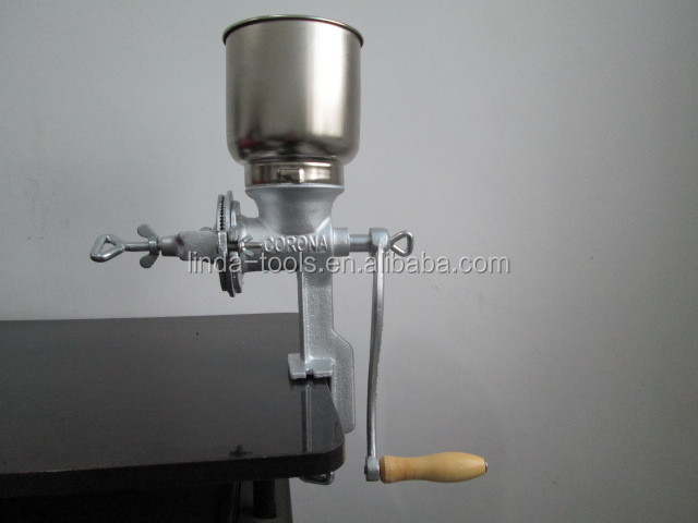 hand 500# manual corn grinder(factory)corn mill