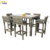 Hot sale customized outdoor furniture garden rattan bar table and chair sets