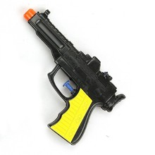 summer game realistic water pistol mini black plastic water gun