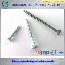 wood screws head triangle slotted countersunk head tapping screws