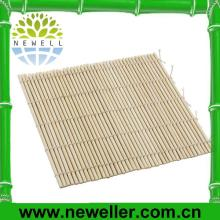 2014 Newell recycled bamboo sushi mat With Double pointed