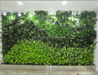 Whole sale artificial plant wall for indoor/outdoor decoration in high quality