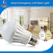 hot selling CE&RoHs certificated emergency 5w led bulb light with built-in battery with high quality
