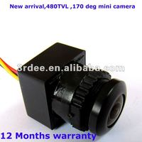 Low price micro cctv camera for vehicles,home-Fisheye 170Deg view +3.6-24v wide voltage+480tvl+1year warranty