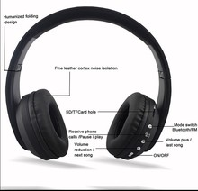 Hot selling earmuff bluetooth headphone with super bass sound quality custom any logo available
