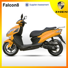 2017 Falcon8,ZNEN New Patent 150cc gas Sporty alloy wheel scooter