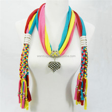 Fashion Pendant Jeweled Scarf Wholesale