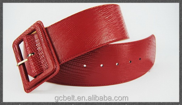 Wide Fashion Woman and ladies PU belt