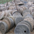old millstone for  garden decorations landscape stone