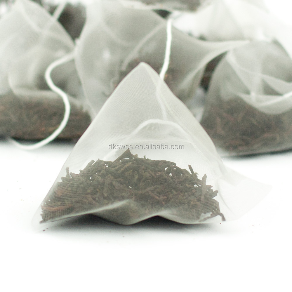 organic detox slim tea in pyramid tea bag