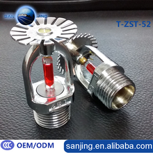 1/2 Inch DN15 Brass Fire Sprinkler 68 Degrees BSP Thread