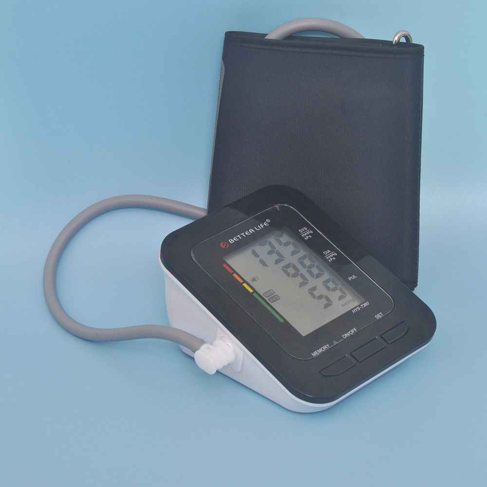 Better Life HYS-7160 Arm Style LCD Display Digital Blood Pressure Monitor