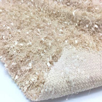 polyester Loop Gage needle Terry knitted sweater cloth fabric