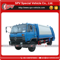 International Brand Dongfeng 4x2 10m3 Waste Compactor Truck