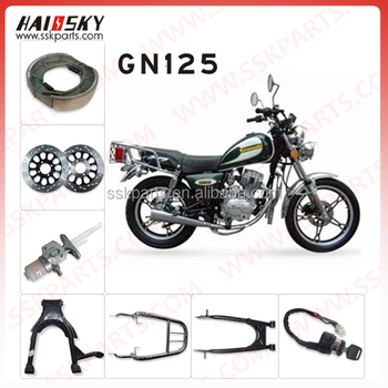 HAISSKY Motorcycle parts spare GN125 China motorcycle parts
