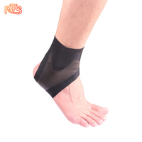 Sport Breathable Compression Elastic Ankle Brace Protector Sleeve Ankle Support For Running Outdoor Basketball