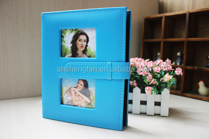 Promotional High Quality Fashionable 4X6 200 PVC / PU Photo Album