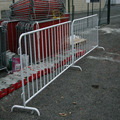 HEAVY DUTY GALVANIZED STEEL CROWD SAFETY BARRICADES Metal Crowd Control Barriers