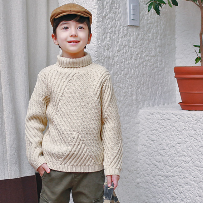 C72665A Wholesale hot-selling sweaters for kids sweater designs for kids hand knitted