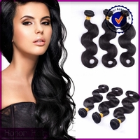 Top quality 100% unprocessed virgin 3 bundles durable body wave peruvian hair beauty