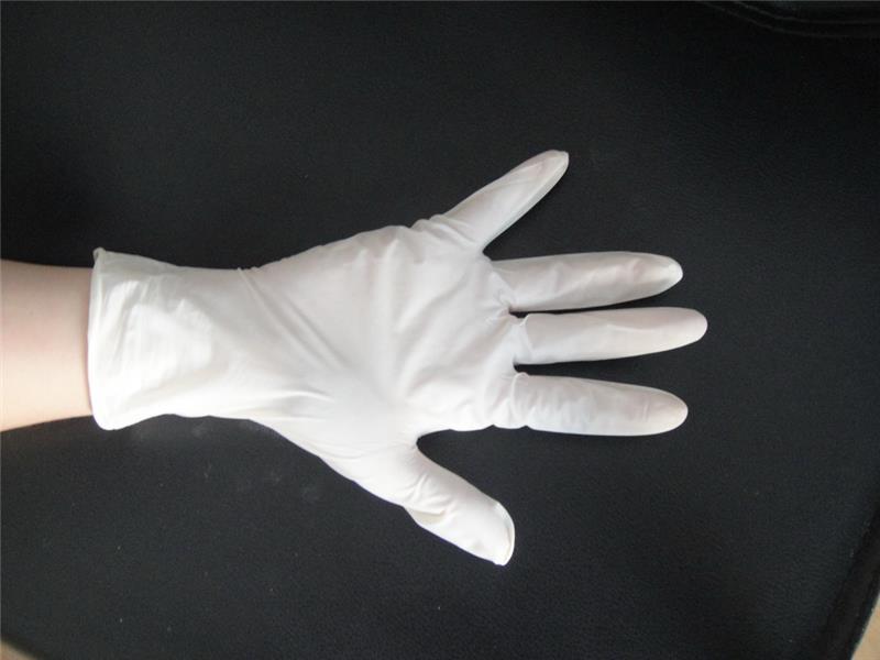 White Powdered and Powder Free Latex examination gloves
