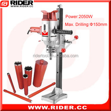 horizontal core drilling machine 2050w ideal diamond core drills for sale