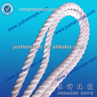3 Strand Pre-shrunk Polyester Rope Manufacture Custom OEM/fishing vessel rope