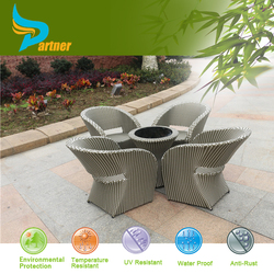 Shops Selling Outdoor Plastic Wicker Table and Chairs /Outdoor Garden Dining Set/Special Outdoor Garden Rattan Furniture